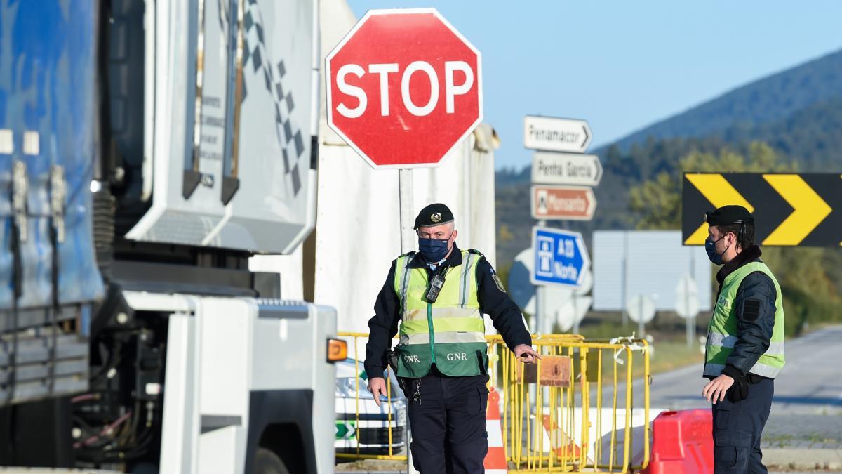 Portugal amplía otros 15 días los controles en las fronteras terrestres y fluviales con España